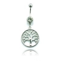 Tree Of Live Charms Navel Body Piercing JewelryFashion Belly...