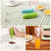 Mini Egg batedeira de mão Leite Café Frother Mixer Kitchen Foamer Ferramenta