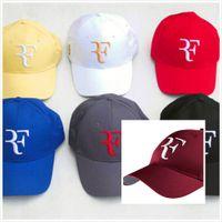 قبعات بالجملة، من الذكور والإناث الجملة روجيه فيدرر ويمبلدون للتنس القبعات قبعة RF التنس قبعة بيسبول 2020