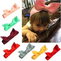 New Baby Headbands Flowers Girls Bunny Ear Hairbands lovely ...