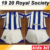 19 20 Royal Society JUANMI Kids Kit Soccer Jerseys OYARZABAL...