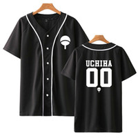 Naruto Boruto beyzbol t gömlek erkek / kadın / çocuk uchiha itachi uzumaki sasuke kakashi gaara japonya komik MX200509 tshirt gündelik anime tişört