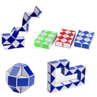 DHL Mini Creative Magic Snake Shape Toy Game 3D Cube Puzzle ...