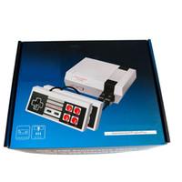 2019 도착 미니 TV는 620을 저장할 수 있습니다 게임 콘솔 비디오 소매 용 상자가있는 NES 게임 콘솔을위한 휴대용 무료 DHL