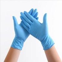 Одноразовые защитные нитриловые латексные перчатки пищевые перчатки универсальные бытовые садовые перчатки для чистки пищевых продуктов кухонные принадлежности LJJA4042