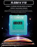 R-SIM 14 V18 Version R SIM14 RSIM14 R SIM 14 RSIM 14 Odblokuj iPhone XS Max IOS12.x ICCID Unlocking Sim Unlock Card R-SIM14 MQ50