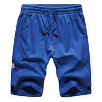Mode-Männer Shorts beiläufige Normallack-Shorts Mann-Sommer-Art-Strand-Badeshorts Männer Sport Kurz Größe S-2XL