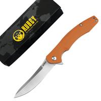 Bearing Kubey KU176 EDC faca dobrável Bola D2 Lâmina G10 Handle Canivetes Outdoor Camping Caminhadas