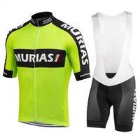 2020 Новый PRO Велоспорт Команда Джерси Набор Мужчин Короткая Рукав Зеленый Ciclismo Велосипедная Гоночная Одежда Bib Гель Дышащие Падушки Шорты ROPA DE HOMBRE