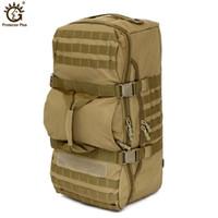 التكتيكية حقيبة الظهر 60L قدرة كبيرة في الهواء الطلق التخييم الرياضة حقائب تحمل على الظهر للرجال المشي لمسافات طويلة الكتف حقيبة الظهر حقيبة الظهر السفر