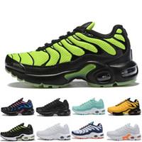 TN Plus Hot 2019 TN enfants Chaussures enfants Garçons Chaussures de basket-ball Enfant Huarache Legend Bleu Sneakers Taille 28-35