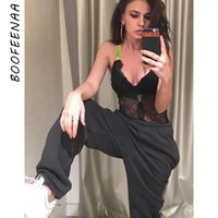 BOOFEENAA High Waist Harem Pants Women Street Knit Fleece Jogginghose Jogginghose Winter-Qualitäts-beiläufige Hose C67-AE42 T200622