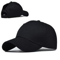 2020 여름 뜨거운 판매 개방 포니 테일 모자 간단한 100 %면 야구 모자 포니 테일 캡
