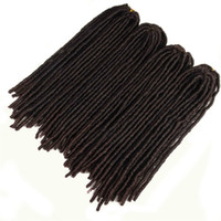 Synthetic Braiding Dreadlocks Hair Extensions Heat Resistant...