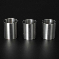 Чаши с титановой вставкой для продукта Focus V Carta V2 Чаша с плоским верхом для термостойкого гвоздя для толстого бескаркасного кварцевого стекла