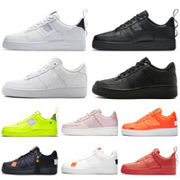 Nike Air Force 1 Forces One AF1 Men Casual Shoes High Low Cut Triple Blanco Negro Trigo Mujeres Hombres Entrenadores Skateboarding Deportes Zapatillas 36-45