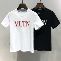 Val spring and summer new fashion men' s t- shirt with co...