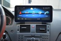 10.25inch Android10.0 Lecteur DVD de voiture Radio GPS Navigation Multimédia pour Mercedes-Benz C-Classe W204 C200 C230 C250 C300 C350 2007-2011 USB Audio Stéréo Bluetooth DAB