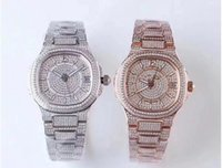 TW pieno diamante versione platinum 5719 / 2G montre de luxe movimento 324c orologi 50m impermeabile diamante spessore 10 millimetri orologio