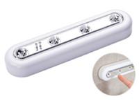 Diode White LED Touche Touch Batterie Touche Stick sur le mur sous armoire placard Lumière Lampes actives Composants LLFA