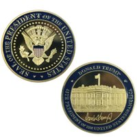 GLSY Donald Trump Challenge Coin, Gold Plated Collection Coi...