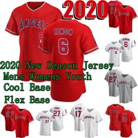2020 New Season Anthony Rendon Jerseys Shohei Ohtani Mike Trout Albert Pujols Justin Upton Hansel Robles Simmons Taylor Ward Felix Pena