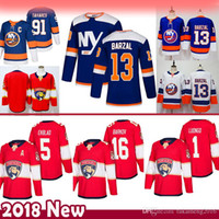 91 John Tavares 13 Mathew Barzal New York Islanders Hokeyi Formalar Florida Panthers 16 Aleksander rkov 5 Aaron Ekblad 1 Roberto Luongo erkekler
