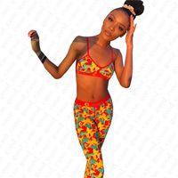 Kadınlar Mayo Tozluklar Yüzme Takımı, ünlü Eşofman Markalı Tankini Bikini Beachwear D52101 2 Adet Mayo Spor Sütyen ve Pantolon Tasarımları