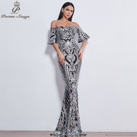 Poems Songs New Style elegant luxury Evening dresses long ve...