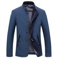 2019 Men Jacket Spring Autumn Thin Windbreaker Men Zipper Jackets Outwear Casual Coats Casaco Masculino Dropshipping