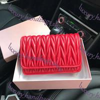 Designer-Handtaschen SOHO DISCO Bag 2019 neue Umhängetasche berühmte Marke Designer Frauen Lammfell Kette Tasche hochwertige klassische Flip Schulter