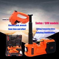 2019Sedan / SUV ModelliAutomotive Electric Hydraulic Jack Electric Wrench, Air Pump, Lighting. Strumento di emergenza auto
