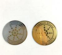 2019 새로운 핫 퀀텀 쉴드 24K 금 음이온 안티 방사선 스티커 Shield30pcs / lot