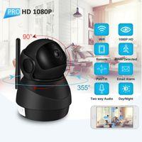 1080P HD Câmera IP WiFi Câmera de Vídeo de Áudio Duas Vídeo Cloud Home Vigilância Night Vision Security Camera Monitor de bebê