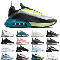 Nike Air Max 2090 Hombres Mujeres Zapatos para correr Pure Platinum Duck Camo Futurism Sail Lava Glow Bred diseñador para hombre des chaussures zapato sneakers