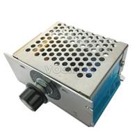 Freeshipping 100 PZ 4000 W SCR Regolatore Elettronico 220 V AC Stepless Termostato Governatore Regolatore Di Tensione Regolatore # 210053