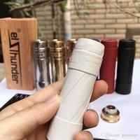 Новый клон Elthunder 21700 MOD красочная механическая электронная сигарета VAPE красивый цвет высокое качество Fit 510 резьба распылитель горячий торт