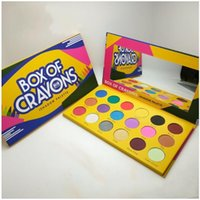 Kutu boya kalemi ishadow paleti kozmetik makyaj göz farı paleti 18 renkler ışıltı güzellik mat göz farı