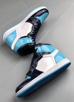 New 2020 1 High Og Unc Patent Wmns Asg Obsidian Blue Chill Weiß Männer Frauen-Basketball-Schuhe 1 s All-Star Game Sneakers
