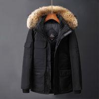 f073e2cfaa4 Высокое качество новых мужчин Parkas вниз одежды короткий стиль утолщенные  пальто для мужчин и женщин пуховик