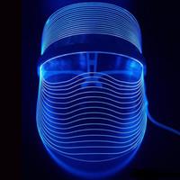 Toptan Yeni Buluş 3 Renkli LED Işık Terapi Yüz Güzellik Enstrüman Yüz SPA Tedavi Cihazı Anti Akne Kırışıklık Kaldırma Maske
