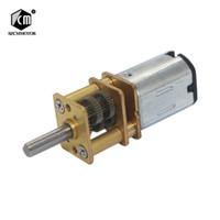 10 Vezes Engrenagem Do Motor 7.5 15 N20 30 rpm Micro Motores Da Engrenagem Da CC com relação de Redução 1000 todos os Motoredutores d