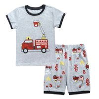 Baby Boys Clothes Sets Summer Fashion Cartoon Car T- shirt + ...