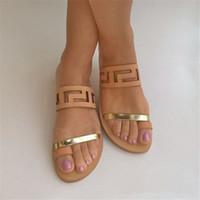 Nouveau Mode D'été Chaussures Femmes Sandales Gladiator avec Femmes Sandales En Métal Décoration Sandalias Mujer