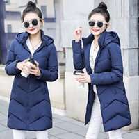 Fashion Autumn and winter jacket coat women High quality wad...