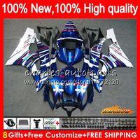 Body OEM voor Yamaha YZF R 6 600CC YZF 600 YZF-600 06-07 Frame 61HC.16 Lichtblauw Nieuwe YZF-R6 YZF600 YZF R6 YZFR6 06 07 2006 2007 Fairing Kit