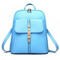 HBP جودة عالية لينة جلد النساء حقائب حقائب مدرسية قدرة كبيرة لفتاة الكتفين حقيبة سيدة حقيبة الظهر