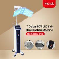 Expédition rapide Professionnel BIO thérapie par la lumière Photon LED Rajeunissement de la peau traitement de l'acné TDP machine de salon de beauté
