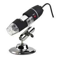 1000X 8 LED USB 2.0 Digital endoscopio del microscopio 2MP Herramientas eléctricas lupa del microscopio Zoom Vídeo Cámara Microscopio Lupa libre de DHL