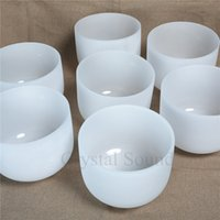 "Chakra Set of 7 Crystal Singing Bowls Size 6"" - 12"" ..."